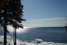 Lakefront holiday house in Lutsen MN