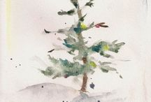Christmaswatercolor / by Lori Sanchez