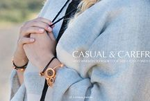 Fall Lookbook / Ageless and timeless, the Caterina Jewelry line caters to fun-loving, energetic women with an interest in style, elegance and quality. We're excited to share our designs with you, and to help elevate your beauty, where ever you go!