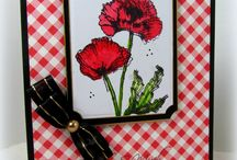 Flower cards and Floral images created with Chameleon pens