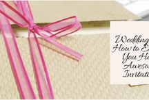 Wedding Tips: How to Ensure You Have Awesome Invitations / Invitations may not be the center of your wedding, but they are one of the most essential components. They are what set the entire tone of your wedding and tell guests what they can expect if they attend the wedding.  http://www.kimberleyandkev.com/wedding-tips-how-to-ensure-you-have-awesome-invitations/