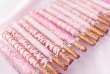 Pink baking