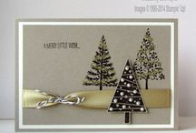 Stampin' Up! - Festival of Trees / Projects using the 'Festival of Trees' stamp set