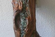 fából, kőből