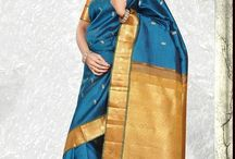 kanchipuram sarees / Buy variety of kanchipuram sarees in different colors online at saridhoti.com.
