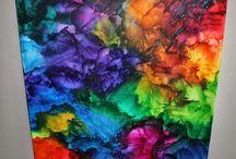 Farvekridt kunst
