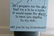 Here comes the bride..!