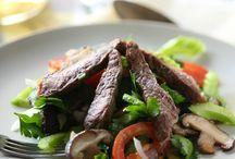 Салаты / Рецепты быстрых и легких салатов