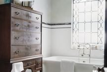 камень мрамор ванная