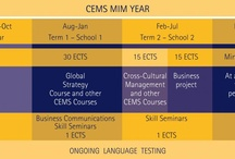 CEMS MIM / The CEMS Master's in International Management (CEMS MIM) is a postgraduate, pre-experience degree open to a select group of students enrolled on a Master's programme in one of 26 leading institutions offering postgraduate studies worldwide.