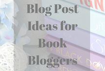 Blogging ✨ / About book blogging :)