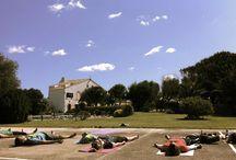 Retiro de yoga en Menorca/ Menorca yoga retreat / Fotos de los retiros en Menorca