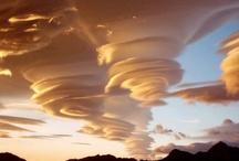 Lenticulair clouds