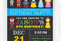 twins 4th birthday party