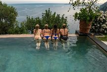 Steven Cox Instagram Photos The #girls enjoying the pool at #VillaSanGiacomo, our place in #Positano.  #travel #views #ocean #goodlife