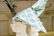 Linen Table Napkins / Linen Table Napkins - Cotton Napkins