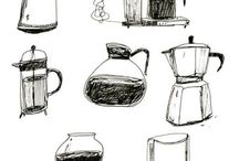 Printing coffee