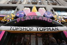 Topman Playland / #TopmanPlayland  has come to Oxford Circus for the weekend! Step on up to win prizes at King of The Hammer and grab your delicious fairground freebies. / by Topman