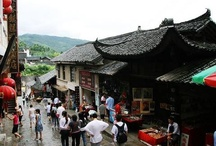 Furong: China Ancient Town / Furong Town or Hibiscus Town is located in the Yongshun County of Western Hunan Tujia and Miao  Autonomous Prefecture.