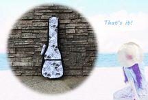 Hawaiian stylish ukulele bag