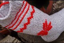 ciorapi tricotati