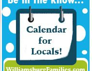 Things to Do in Williamsburg VA / Find great things to do everyday of the week for locals and visitors to the Williamsburg VA area. Visit www.WilliamsburgFamilies.com