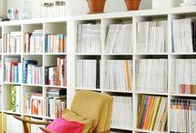 book shelf living