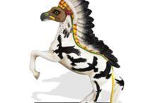 Enesco Horse Figures / Enesco Collectible Figures