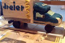 Fahrzeug Cake / LKW Kuchen zum Geburtstag für ein Arbeitskollege!