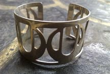 925 sterling silver cuff bracelet / Handmade sterling silver jewelry
