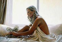 Красота женского тела в картинах