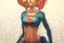 Supergirl / Super girl art in web. #Supergirl
