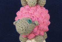 Sheep in crochet