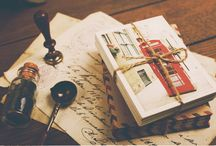 Stamps, Postcards and Letters / Postcrossing inspiration
