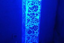 CD Case Floor Lamp