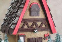 Gingerbread House and Cookies / by Charlene Garrett