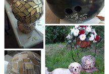 Mosaic Bowling Ball Inspiration / by Tasha