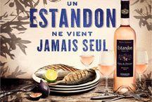 Le rosé Estandon / Campagne d'affichage pour notre marque phare de rosé, Estandon.