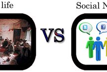 Social Network VS Social life / In old days people were sit together, meet each other many times in a day, ask their issues, nursing the patients, attend condolences and attend mirages. But nowadays life has changed. Red more here http://pakitservice.com/index.php/blog/item/7-social-network-vs-social-life