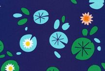 Fabric for pond quilt / Looking for fabric for my first quilt...mostly scraps but need a few pond themes pieces. / by Catharine Laird