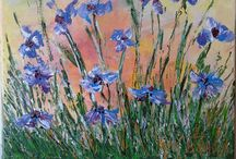 Printemps en bleu Provence *