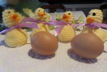 Easter chicks for Cadbury creme egg