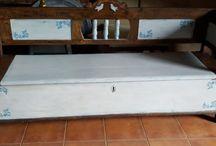 felújított bútorok / felújított festett bútor
