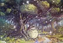 Totoro and other animations