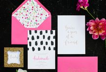 Stationery & Invites / Fun notecards and pretty invites
