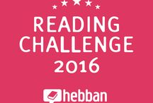 Hebban Reading Challenge 2016 / Doe jij al mee aan de Reading Challenge in 2016?