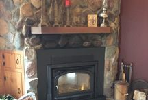 wood insert / Installations by Great American Fireplace