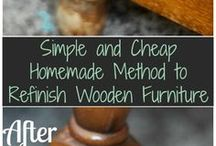 Pulire legno