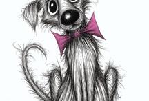 Cani disegni