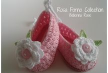 ballerine crochet baby